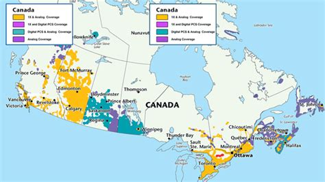 cell coverage map canada canadian cellphone networks stuhallwrites
