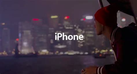 apple posts new tv ad showing how iphone 5 users enjoy