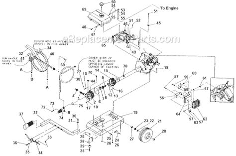 briggs and stratton pressure washer parts diagram briggs and stratton 9897 0 parts list and diagram