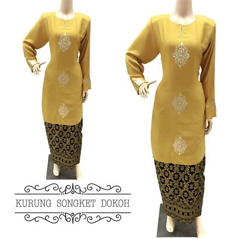 Baju Melayu Lelaki Warna Kuning busana muslimah part 3
