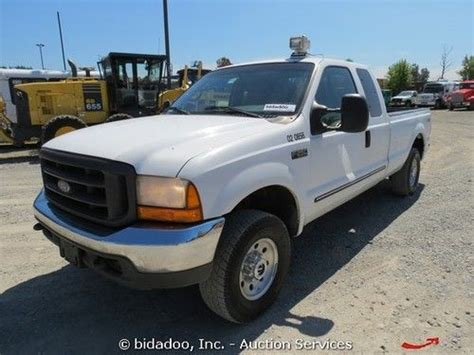 F250 Bed by Find Used Ford F250 Xlt 4x4 Truck Bed Extended Cab Ac Auto 7 3l Powerstroke V8 In