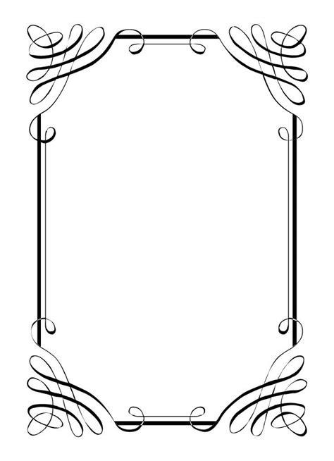 Wedding Border Design Black And White by Image Result For Page Border Designs Flowers Black And