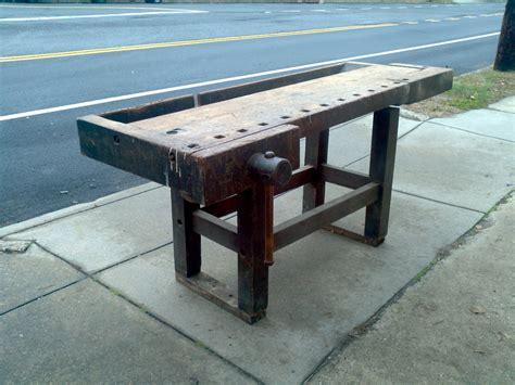antique carpenter s bench antique carpenter s workbench 171 obnoxious antiques
