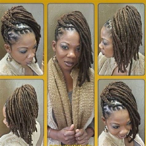 pin up styles for dreads hair color ideas and styles for