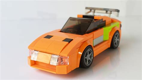 lego toyota supra legosaurus lego toyota supra from the fast and the