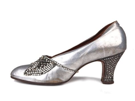 1920 s style shoes shoe icons shoes silver kid leather pumps with