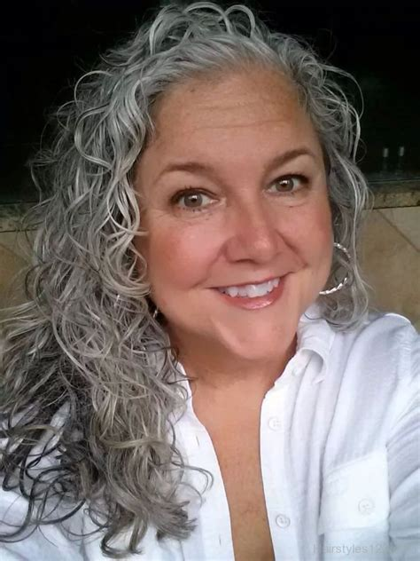 grey hair on mid length hair grey hairstyles page 2