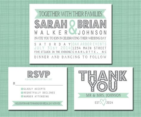 How To Put Rsvp On Wedding Invitation