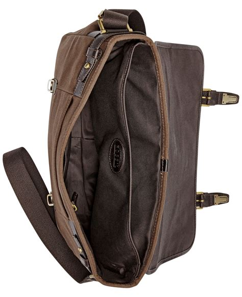 Fossil Perry East West Messenger Bag by Fossil Estate East West Calvary Twill Messenger Bag In