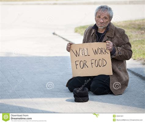 Will Work For by Will Work For Food Stock Image Image 33261321