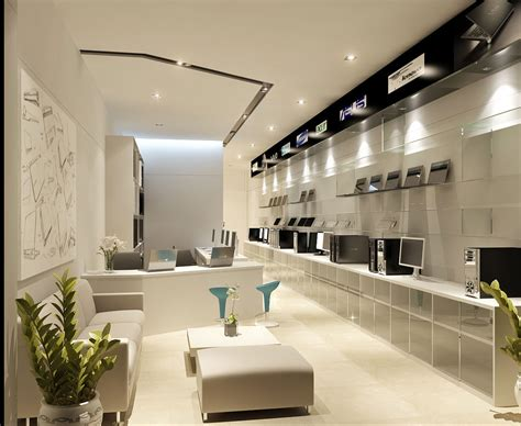 retail interior design modern retail computer store interior design ideas