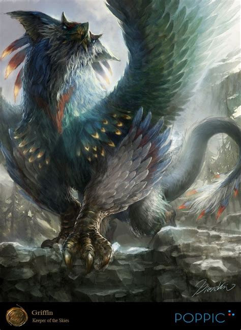 mythical creature restrained bound dragon 447 best images about griffin on a wings