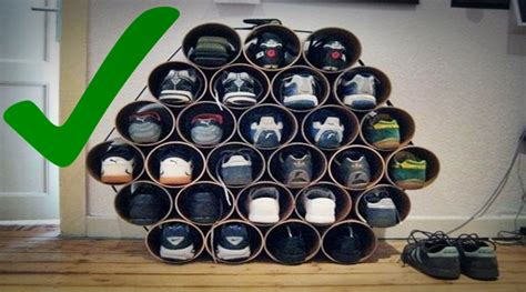 shoe rack pvc pipe how to use pvc pipes to make amazing shoe racks