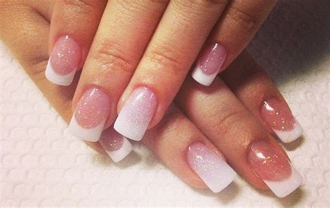 imagenes de uñas acrilico blancas u 241 as acrilicas punta blanca