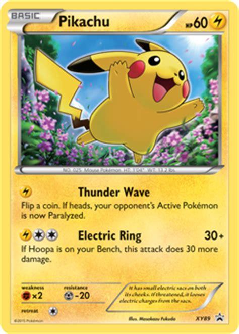 Card Pikachu Mega Caign Promo Xy P Promo 203 pikachu pok 233 dex