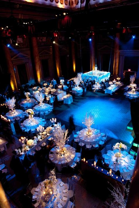 themed wedding events reception d 233 cor photos winter wedding reception inside