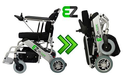 ez lite cruiser electric wheelchair light weight