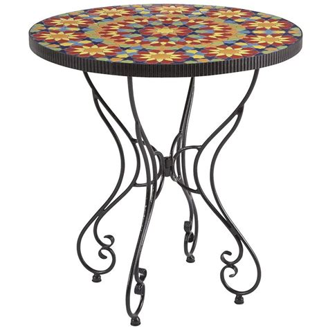 Pier One Bistro Table Kaleidoscope Bistro Table Pier 1 Imports 28 Quot D X 30 Quot H Outdoor Living Pier 1