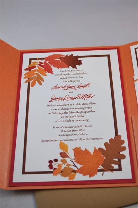 coloured wedding invitations 77 best fall colored wedding invitations images on