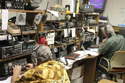 Ham Radio Giveaway - amateur radio club competes in field day contest