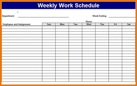 search results for excel employee schedule template