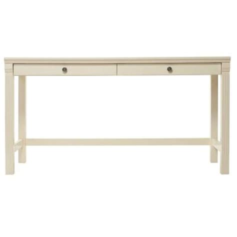 home decorators writing desk home decorators collection edinburgh 2 drawer writing desk in white 3062000410 the home depot