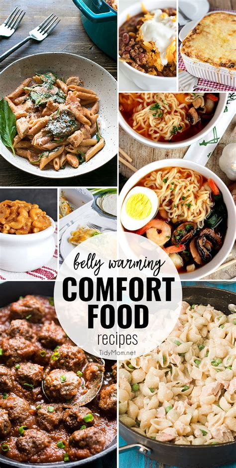warm comfort food favorite belly warming comfort food recipes tidymom
