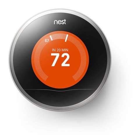 Nest Learning Thermostat, 2nd Generation T200577   The Home Depot