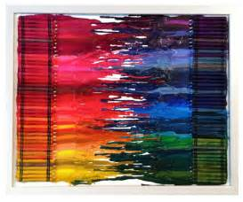 Artful expression crayon art done this a couple times so cute fun
