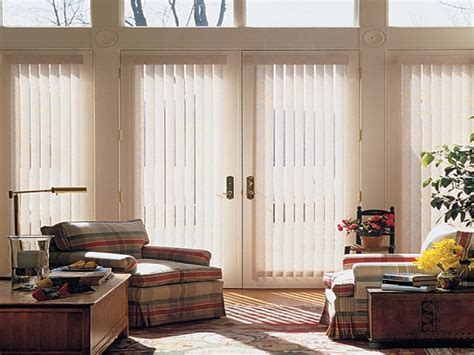 patio door window treatments sliding door window