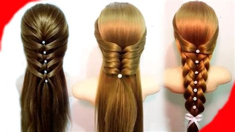 Easy Hairstyles For With Hair by 7 Easy Hairstyles For Hair Best Hairstyles For