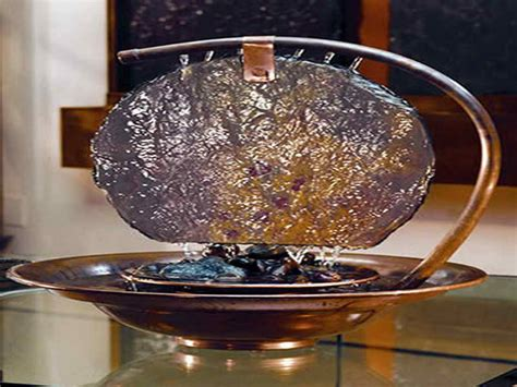 an amazing counter top water fountain feature is great for decoration amazing tabletop water fountains how to