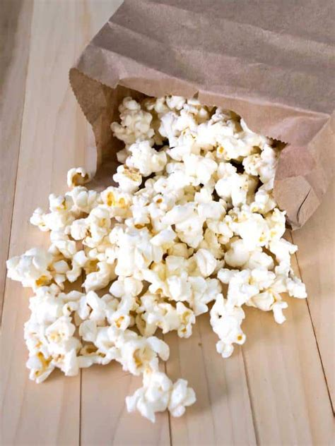 How To Make Popcorn Out Of Paper - microwave popcorn in paper bag the pudge factor