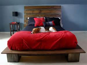 Diy Platform Bed With Headboard How To Build A Modern Style Platform Bed With Headboard
