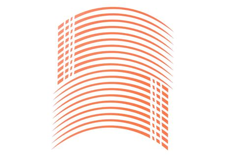 Felgenaufkleber Orange by Gp2 20 Quot Felgenaufkleber In Der Farbe Matt Orange