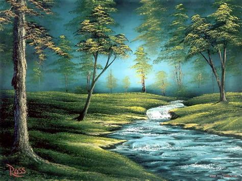 bob ross painting backgrounds wallpapers host2post