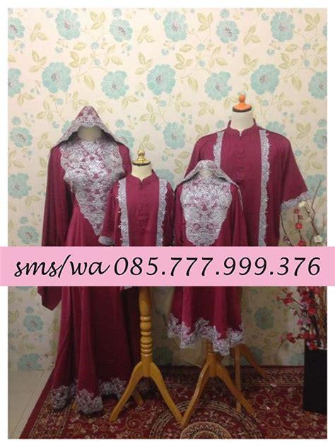 baju muslim tanah abang kaftan arimbi set family couplemuslim