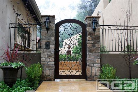 front door gates custom entry gates for a mediterranean style home located