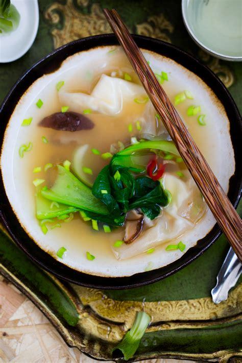 rosol  pierozkami wonton na chinski nowy rok blog