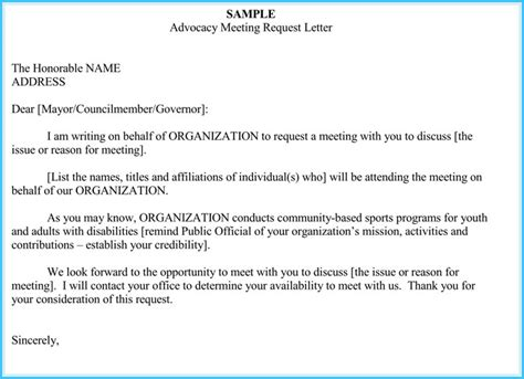 Endorsement Letter From Doh Meeting Request Template Cerescoffee Co