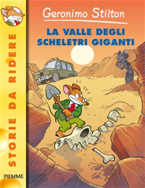 libro memoirs of leticia valle la valle degli scheletri giganti di geronimo stilton libri edizioni piemme