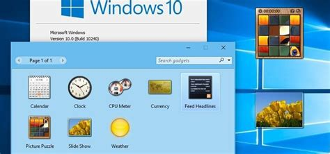 install windows 10 gadgets image gallery install windows 10 desktop gadgets