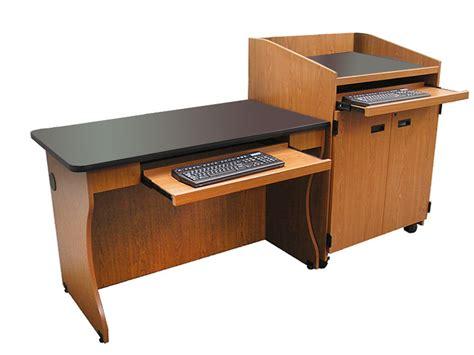 Lectern Desk by Podium Desk Avined Classroom Desk Podium