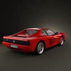 Testarossa Value Testarossa 1986 3d Model Humster3d