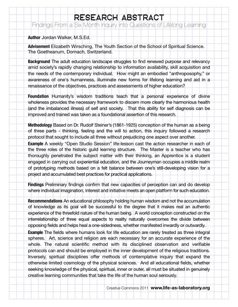 How To Make An Abstract For Research Paper - sle abstract research pictures to pin on
