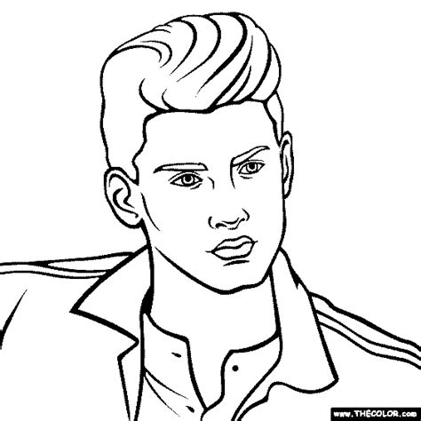 coloring pages one direction free coloring pages thecolor