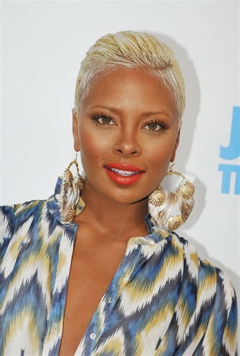 blonde short hair for african american women over 50 short cut hairstyles for black women 13 stylish eve