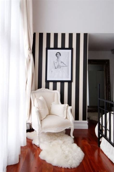 black and white striped wall black and white striped accent wall for the home pinterest