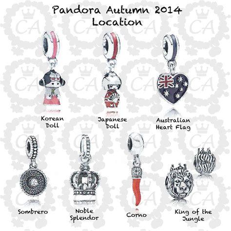 autumn pandora charms 2014