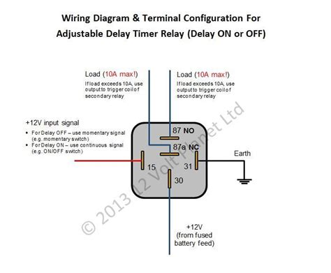 12v relay diagram circuit 25 wiring diagram images